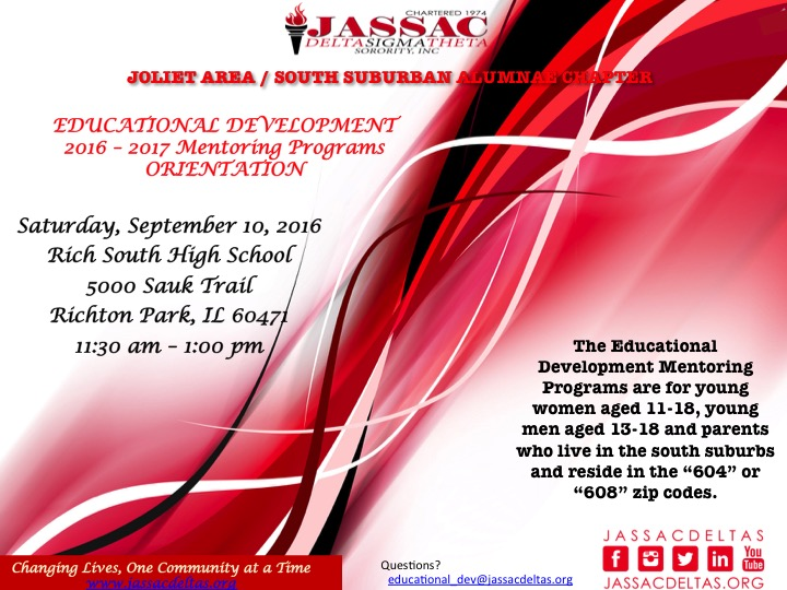 Educational development Flyer Front
