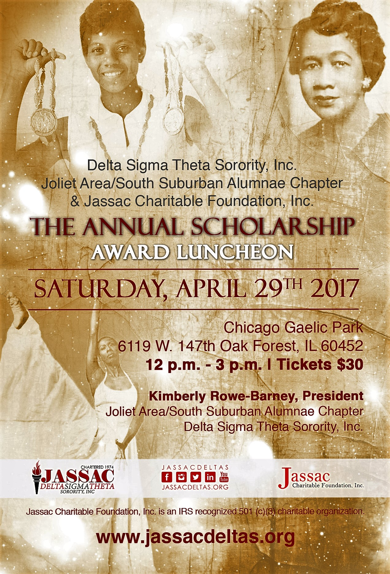 The Annual Scholarship Award Luncheon Joliet Area South Suburban