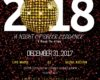 """Countdown to 2018…A Night of Sheer Elegance"""