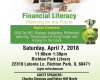 2018 Financial Literacy Workshop